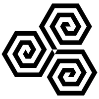 3 hexagon spirals by 10binary