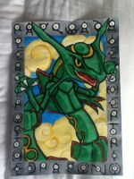 Rayquaza, weather trio leader by Raven-ftw