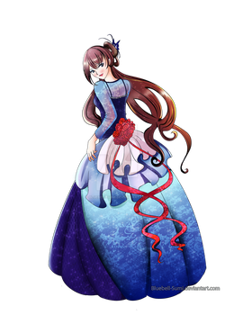Gown design by BlueBell-Sumi