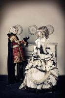 Hizaki and Kamijo cosplay Holy Grail by PlatinumEgoist