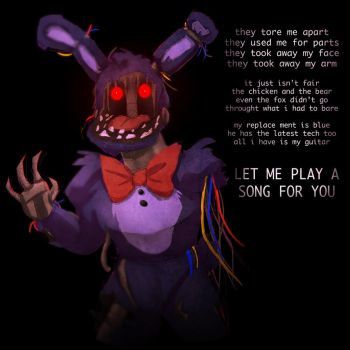 Faceless Bonnie by Lady-Was-Taken