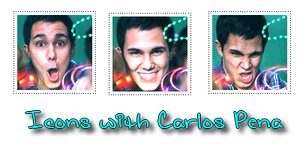 Icons witch Carlos Pena by busia11