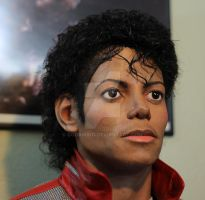 Michael Jackson Beat It Lifesize torso Closeup by godaiking