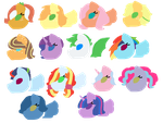 MLP NG Simple Icons 1 by Scottietail