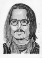 Johnny Depp - New York 2010 by shaman-art