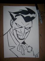 20 Minute Joker by TheInkVillain