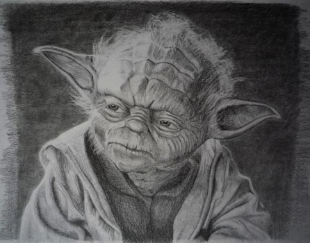Yoda Portrait by Red5Chu