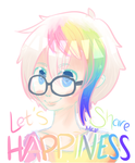 Let's Share Happiness !! by Jhordee