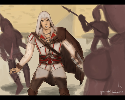 Ezio Auditore by cheesylily02