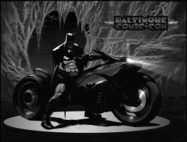 batman motocycle by strngbroda