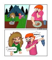 A Hungry Man is an Angry Man by isnani