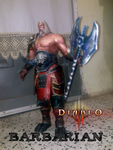 Diablo III  Barbaro by delay-papercraft