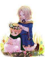 APH_Chibi Arthur and Francis by Miu0813