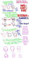 Mini easy Fast tutorial lesson 4 : the head by PinkHeart-Manoon