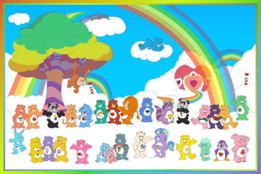 In that Care Bear Family by theoctagon0