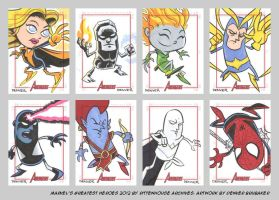 MGH2012 sketchcards 10 by thecheckeredman