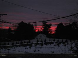 Red Sky, Sailor's Delight by craftysorceress