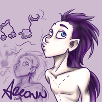 Art trade: Atticus by Areonn