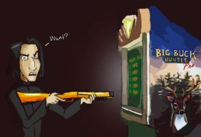 Snape's Fav Game by julvett