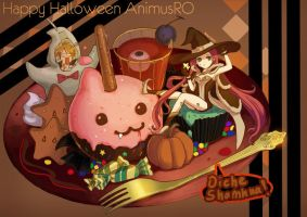 Happy Halloween by Sobachan