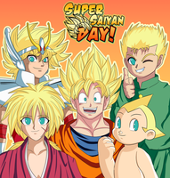 Super Saiyan Day by CheloStracks