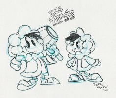 RETRO SERIES 6: Ice Climbers by dustindemon