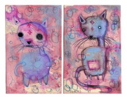 Cats by justinaerni