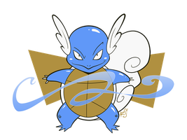 008 - Wartortle by the-Mad-Hatress
