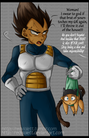 DBZ - Vegebul - Take responisbility by RedViolett