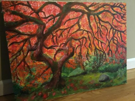 Tree Painting by Stardust-Legend