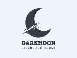 DARKMOON Logo Template by HEVNgrafix