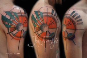 Abstract tattoo - Jay Freestyle by JayFreestyle
