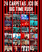 24 Carpetas ICO de Big Time Rush by BettiiyRusher