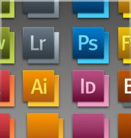 Creative Suite 5 Icons by Jamesbinorbit