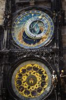 Prague Astronomical Clock by CleaLlyfr