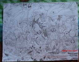Pokemon Overkill by Sophie-The-Skunk