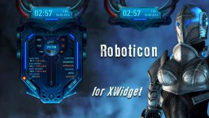 Roboticon for xwidget (animated) by jimking