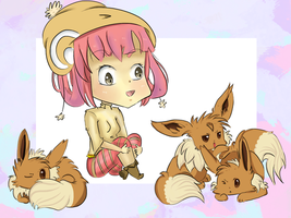 Eevee Trainer by AudioDaisies