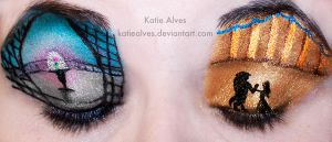 Beauty and the Beast Eyes by KatieAlves