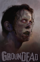 Groundead zombie! by asconch