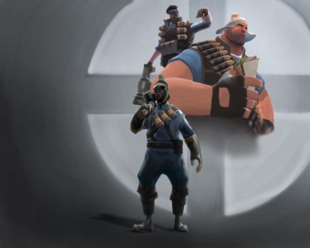 Team Fortress 2 Wallpaper by Nomad1995