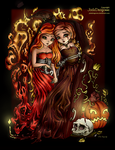Halloween Coloring Contest 2015 by CaptainMetal