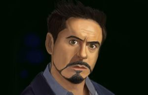 Tony Stark Color by GamerZzon