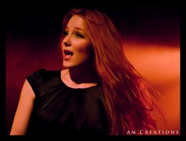 Simone Simons. Live Norway 17 by AmCreationss