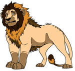 Lion adoptable 12 [CLOSED][OFFER TO ADOPT] by horse-power