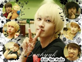 Eunhyuk ''Kiss the Radio'' Wallpaper by ForeverK-PoPFan