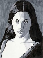 Arwen Gray Scale Design by Rose--Wolf