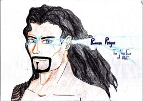 WWE: Roman Reigns by Adula11