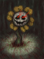 Flowey by Link-of-the-twilight