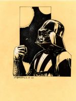 Darth Vader sketch by marcocastiello